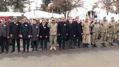 Şehit askerler için tören - HAKKARİ