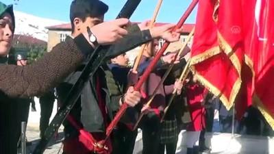 saygi durusu - 18 Mart Şehitleri Anma Günü ve Çanakkale Deniz Zaferi'nin 104. yıl dönümü - MUŞ