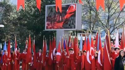 saygi durusu - 18 Mart Şehitleri Anma Günü ve Çanakkale Deniz Zaferi'nin 104. Yıl Dönümü - TRABZON