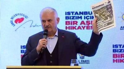 Binali Yıldırım: 'Bayrampaşa'ya Türkiye'nin en büyük teknoloji üssünü kuruyoruz' - İSTANBUL