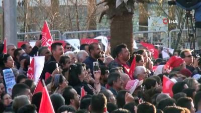 - CHP mitinginde 'Bozkurt' işareti