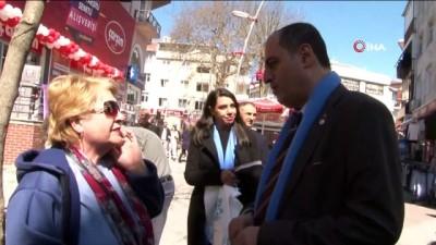 otopark sorunu -  DSP Büyükçekmece Belediye Başkan Adayı Murat Şahbaz'dan esnaf ziyareti