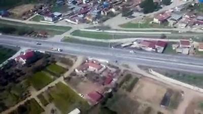 eylem plani - Trafik havadan denetlendi - İZMİR