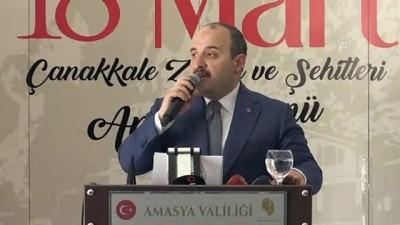 Varank: 'Biz şehirlerimizde ki terör artıklarını temizleyip attık' - AMASYA