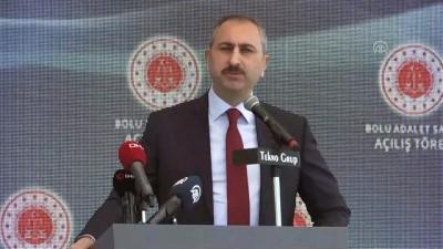 Adalet Bakanı Gül: 'Ne özgürlükleri güvenliğimize ne güvenliğimizi hak ve özgürlüklerimize feda edemeyiz' - BOLU