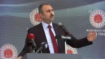 Adalet Bakanı Gül: 'Yapılan yeniliklerden biri de, 1 Ocak tarihinden itibaren başlayan elektronik tebligat uygulamasıdır' - BOLU
