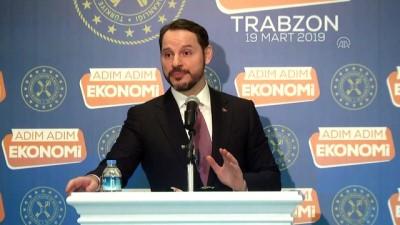 Albayrak: 'Yaz aylarında turizmin, tarımın, ihracatın etkisiyle cari fazla sürecine giriyoruz' - TRABZON