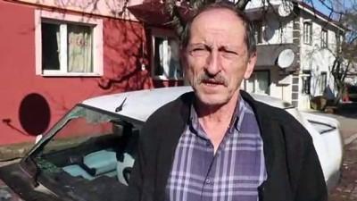 Bolu'da, park halindeki aracın kundaklandığı iddiası - BOLU
