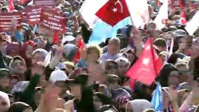 """Cumhurbaşkanı Erdoğan: """"Bay Kemal'in kırdığı potların boyu CHP genel merkezinin boyunu bile aşmıştır"""""""