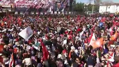 Cumhurbaşkanı Erdoğan Sakarya'da halka hitap etti