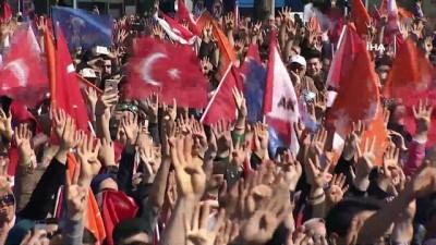 """Cumhurbaşkanı Erdoğan:""""Türkiye'yi tökezletmeye çalışanları bir kez daha hüsrana uğratalım"""""""