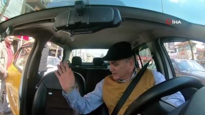 Faruk Özlü, taksi şoförü oldu