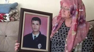 """İntihar eden teröristin şehit ettiği polisin annesi:""""Sevindim, cezasını bulmuş"""""""