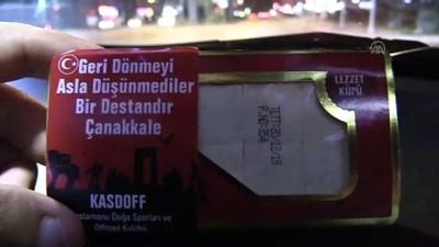 KASDOFF üyeleri Çanakkale şehitlerini unutmadı - KASTAMONU