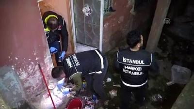 uyusturucu madde - Polisten uyuşturucu satıcılarına operasyon - İSTANBUL