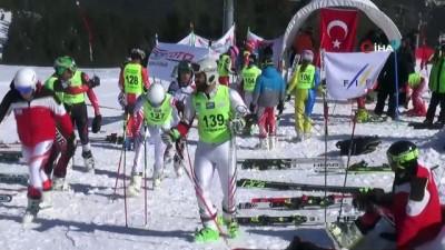 Uluslararası Alp Disiplini 1. Etap Yarışları Sarıkamış'ta başladı
