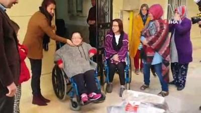 Umut Köprüsü Derneğinden Tosya'daki engellilere akülü araba