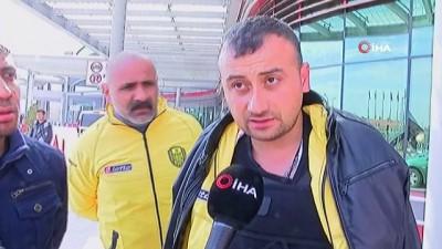 Ankaragücü taraftarları kaza anını anlattı: 'Arkadan gelen Ankaragücü taraftarlarının yardımıyla çıktık'