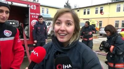 kurtarma ekibi -  Gönüllü itfaiyecilere zorlu eğitim