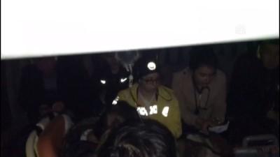 Metal para yutan çocuk helikopterle hastaneye ulaştırıldı - TUNCELİ