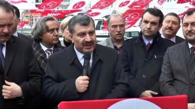 saglik turizmi - Sağlık Bakanı Koca: 'Sandığa gitmemezlik yapmayalım' - TEKİRDAĞ