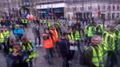 hukumet karsiti -  - Sarı yelekliler 'kritik ay'da yürümeye devam ediyor