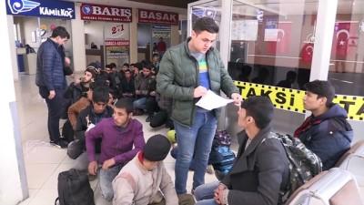 34 düzensiz göçmen yakalandı - ERZİNCAN