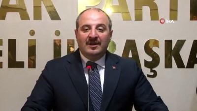 Bakan Varank: 'Bizim gönderdiğimiz paraları Kandil'e peşkeş çektiler'