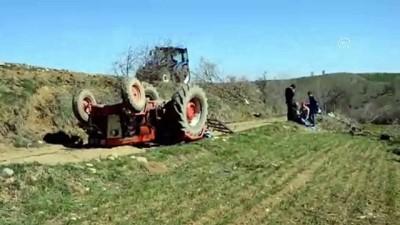 Havza'da devrilen traktörün altında kalan sürücü hayatını kaybetti - SAMSUN
