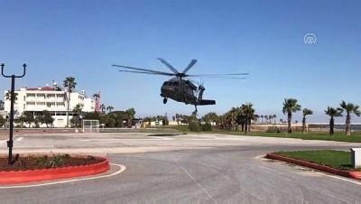 Jandarmadan helikopterle trafik denetimi - MERSİN