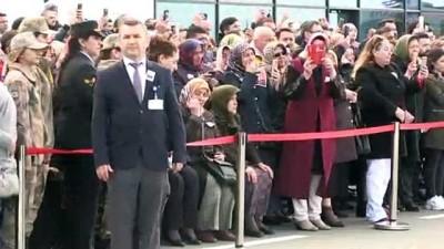 Şehit Jandarma Astsubay Çavuş Damcı, son yolculuğuna uğurlandı (1) - ORDU