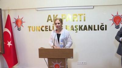 """Varank: """"18 ayda 625 milyonluk yatırım örneği Türkiye tarihinde yoktur"""" – TUNCELİ"""