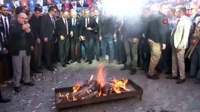 AK Partili Özhaseki, Polatlı'da MHP ile ortak miting düzenledi