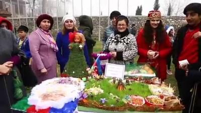 Azerbaycan'da nevruz coşkusu - ŞEKİ