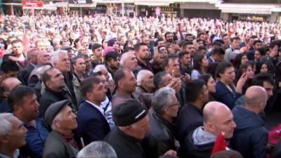 """Bakan Soylu'dan, Karamollaoğluna sert yanıt: """"Ahlaksız ben miyim, PKK'yı 2 tane milletvekilini TBMM'ye sokacağım diye PKK'ya 'milli görüşü' satmaya çalışan sen misin ahlaksız?"""""""