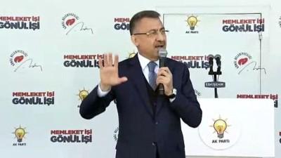Cumhurbaşkanı Yardımcısı Oktay: 'Eskişehir'i Cumhur İttifakı ile şaha kaldıracağız' - ESKİŞEHİR