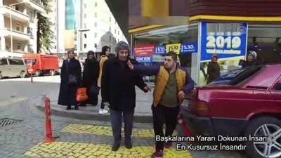 Down sendromlu çocuklardan anlamlı kamu spotu - RİZE
