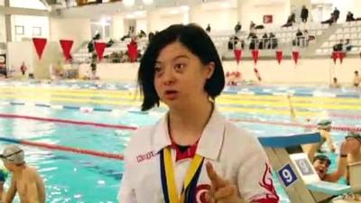 Down sendromlu sporcu madalyaya doymuyor - SAKARYA