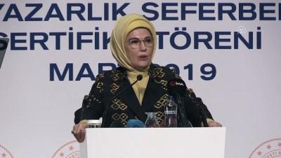 Emine Erdoğan: 'Her yaştan insanımızın temel bilgisayar ve dijital okuryazarlık becerilerini kazanması son derece önemli' - GAZİANTEP
