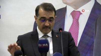 Enerji ve Tabii Kaynaklar Bakanı Fatih Dönmez: 'Türkiye Petrolleri tarihinde ilk defa yerin altı çatlatılarak keşif yapılıyor'
