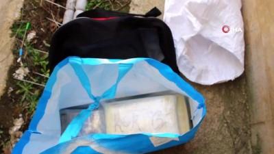 Hamzabeyli Sınır Kapısı'nda 8 kilogram 881 gram kokain ele geçirildi...Piyasa değeri 2 milyon 500 bin TL