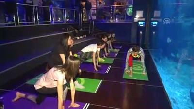 İstanbul Akvaryum'da yoga etkinliği düzenlendi - İSTANBUL