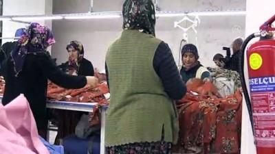 İstanbul'dan memleketlerine dönüp tekstil atölyesi kurdular - KARAMAN