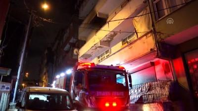 Şişli'de bina yangını - İSTANBUL
