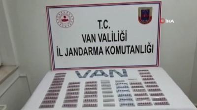 uyusturucu madde -  Van'da 541 adet uyuşturucu ve cinsel uyarıcı hap ele geçirildi