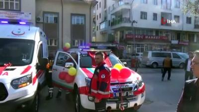 Çankırı'ya 48 ambulans müjdesi