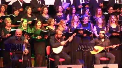 folklor -  Erdal Erzincan çaldı, Başkan Şükrü Genç söyledi
