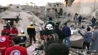 İdlib'e hava saldırısı: 10 ölü