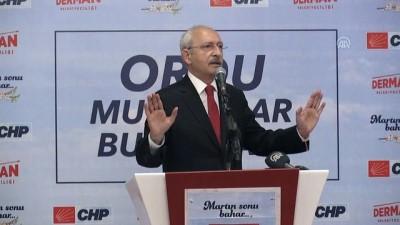 Kılıçdaroğlu : 'Bir tane EYT'li gider de onlara oy verirse benim iki elim iki yakanızda olur' - ORDU