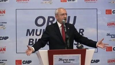 Kılıçdaroğlu: 'Otomobil üreteceğiz diyorlar. Nerede kaldı bu' - ORDU